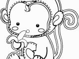 Cute Monkey Coloring Pages Cute Monkey Coloring Pages 77 with Cute Monkey Coloring Pages