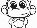 Cute Monkey Coloring Pages Monkey Coloring Pages for Kids Printable Kids Colouring Pages