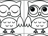 Cute Owl Coloring Pages Owl Coloring Pages Preschool Preschool Cute Printable Owl Coloring