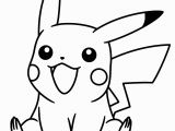 Cute Pikachu Coloring Pages Pokemon Coloring Pages