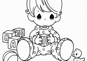 Cute Precious Moments Coloring Pages Free Printable Baby Coloring Pages for Kids to Print Coloring Image