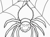 Cute Spider Coloring Pages Spider Coloring Page