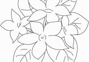 Cute Spring Flower Coloring Pages 25 Jasmine Flower Coloring Pages