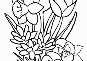 Cute Spring Flower Coloring Pages Category Coloring Pages 94