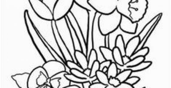 Cute Spring Flower Coloring Pages Flower Page Printable Coloring Sheets