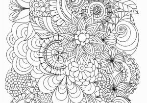 Cute Spring Flower Coloring Pages Flowers Abstract Coloring Pages Colouring Adult Detailed Advanced