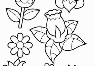 Cute Spring Flower Coloring Pages Plant Coloring Pages for Preschoolers Unique Cute Printable Coloring