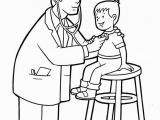 D is for Doctor Coloring Page 22 Doctor Coloring Pages