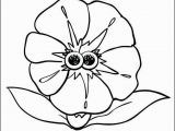 Daisy Girl Scout Flower Friends Coloring Pages Coloring Sheet Gloria