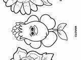 Daisy Girl Scout Flower Friends Coloring Pages Flower Friends Coloring Page Daisy Scouts