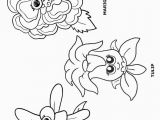 Daisy Girl Scout Flower Friends Coloring Pages Printer Friendly Version