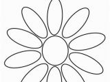 Daisy Petal Coloring Pages Daisy Coloring Page Tracing Twisty Noodle