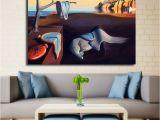 Dali Wall Murals Abstract Painting Salvador Dali Surrealism Canvas Art Wall Posters
