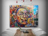 Dali Wall Murals Print Oil Painting Street Art Salvador Dali Home Decorative Wall