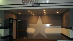 Dallas Cowboys Stadium Wall Mural Dallas Cowboys Locker Room Entrance