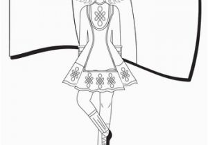 Dancing with the Stars Coloring Pages Irish Dance Coloring Page St Patrick S Day
