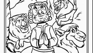 Daniel and the Lions Den Coloring Page Daniel and the Lions Den Coloring Pages
