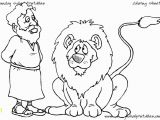 Daniel and the Lions Den Coloring Page Free Christian Coloring Pages for Young and Old Children