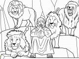 Daniel and the Lions Den Coloring Page Printable Dare Daniel and the Lions Story From Holy Bible and Images