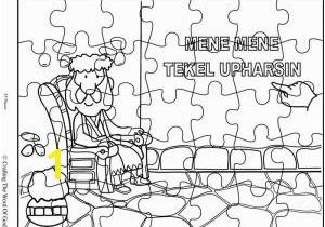 Daniel and the Writing On the Wall Coloring Page the Writing On the Wall Crafting the Word God