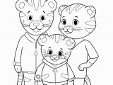 Daniel Tiger Coloring Pages Printable Print Out Grr Rific Coloring Pages for Your Weekend Adventures
