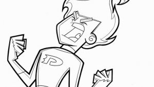 Danny Phantom Coloring Pages Danny Phantom American Superhero Coloring Pages