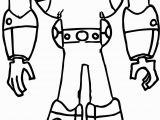 Danny Phantom Coloring Pages Nice Danny Phantom S Ecto Skeleton Coloring Page