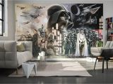 Darth Vader Wall Mural 312x219cm Teenagers Wall Mural Photo Wallpaper Star Wars