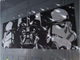 Darth Vader Wall Mural Em Star Wars Em ™ Panoramic Wall Mural In 2019