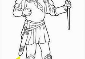 David and Goliath Coloring Page 111 Best David and Goliath Images