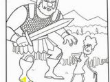 David and Goliath Coloring Page 1363 Best David and Goliath Images On Pinterest In 2019
