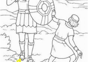 David and Goliath Coloring Page 599 Best Sunday School Images On Pinterest