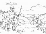 David and Goliath Coloring Page David and Goliath Coloring Page Coloring Pages Coloring Pages