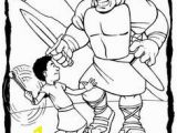 David and Goliath Coloring Page Free 168 Best Sunday School Coloring Sheets Images