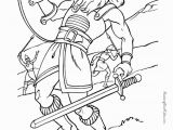 David and Goliath Coloring Page Free 20 Jonathan Und David Malvorlagen
