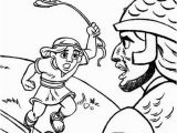 David and Goliath Coloring Page Lds David and Goliath Coloring Page Eskayalitim