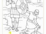 David and Goliath Coloring Pages for toddlers 81 Best David and Goliath Images On Pinterest