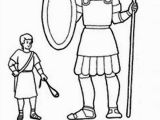 David and Goliath Coloring Pages for toddlers Coloring Sheets for David and Goliath 1 Coloring Pages David and