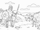 David and Goliath Coloring Pages for toddlers David and Goliath Coloring Page Coloring Pages Coloring Pages