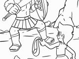 David and Goliath Printable Coloring Pages David and Goliath Drawing at Getdrawings