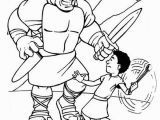 David and Goliath Printable Coloring Pages Free Printable Coloring Pages David and Goliath Coloring
