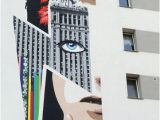 David Bowie Wall Mural A Bowie Mural On An Apartment Building In Warsaw Poland