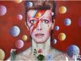 David Bowie Wall Mural Brixton A Tribute to David Bowie Year In Focus 2016 Swe