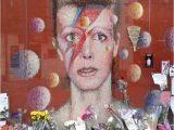David Bowie Wall Mural Brixton David Bowie Memorial London Bewertungen Und Fotos