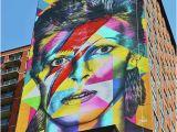 David Bowie Wall Mural David Bowie Davidbowie Rockstar Icon Jerseycity Jersey