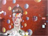 David Bowie Wall Mural Murales A David Bowie Artista Australiano James Cochran Picture