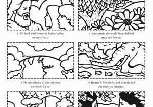 Day 6 Creation Coloring Page Coloring Pages