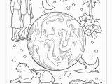 Day 6 Creation Coloring Page Printable Coloring Pages From the Friend A Link to the Lds Friend