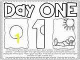 Day 6 Creation Coloring Page Seven Days Of Creation Early Childhood Coloring Sheet for Creation