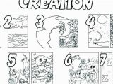 Day 6 Creation Coloring Page the Creation Coloring Pages for Children Creation Coloring Pages